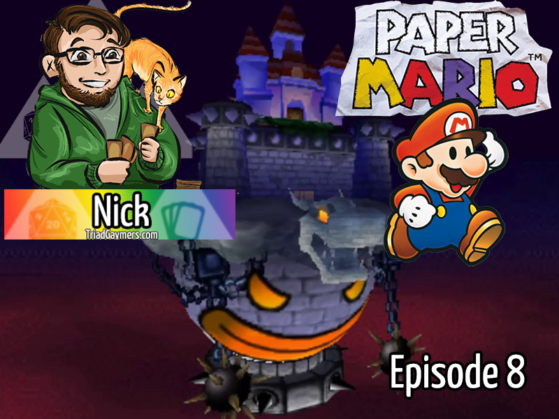 Paper Mario Episode 8 – The Cold Never BoWsered Me anyway – Stream 10.14.2020